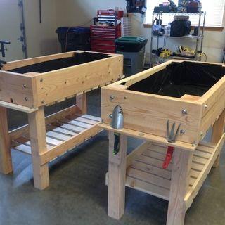 Photo of DIY Raised Bed Planter