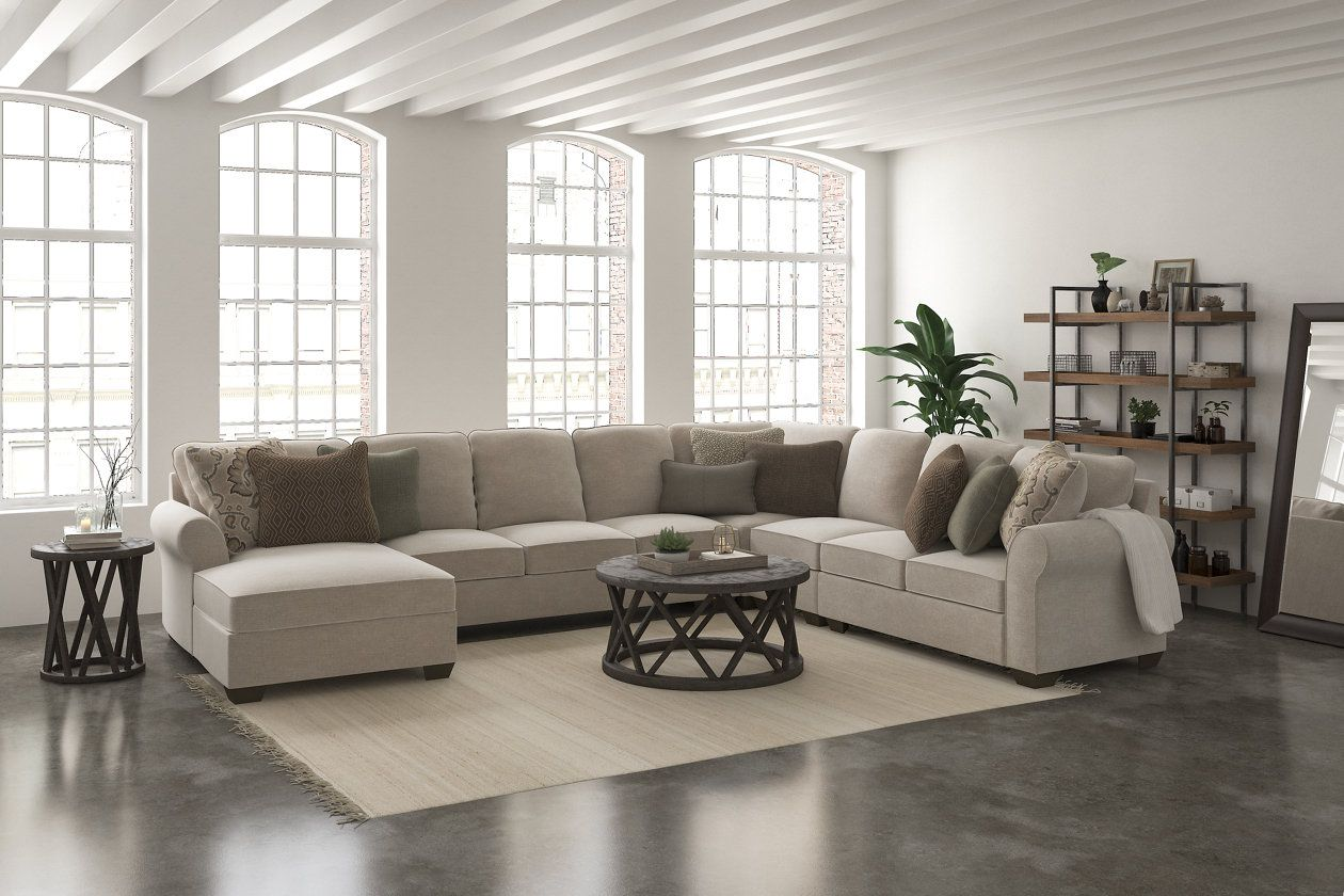 Wilcot 5 Piece Sectional With Chaise Ashley Furniture Homestore Sectional Sofa Sectional Sofa With Chaise Large Sectional Sofa