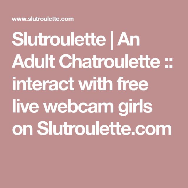 Adult Sex Chatroulette Free