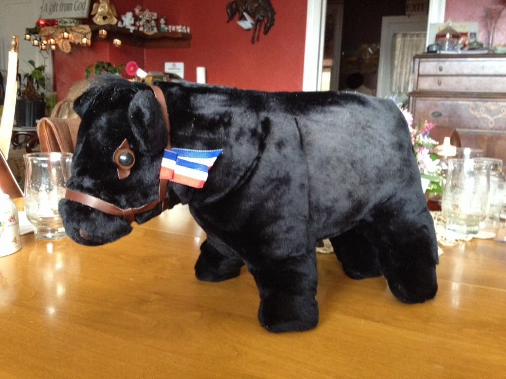 Black Angus Cow Stuffed Animal Ideas For The Kids Animals Cow