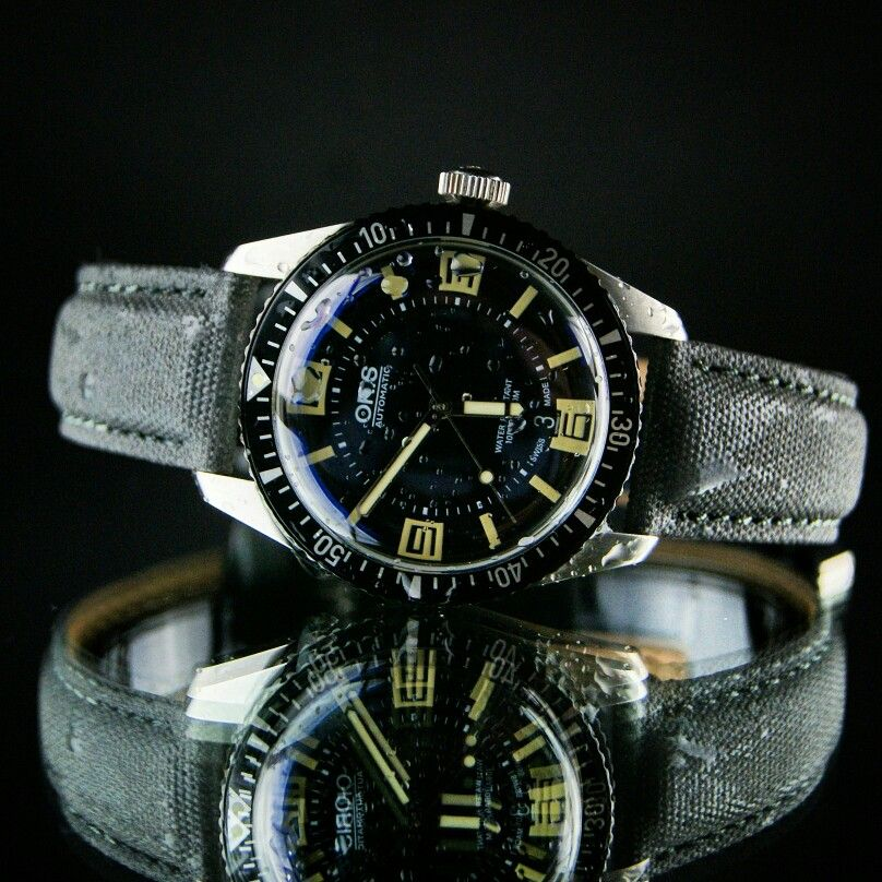 oris diver 65 on our gray tactical strap watches pinterest