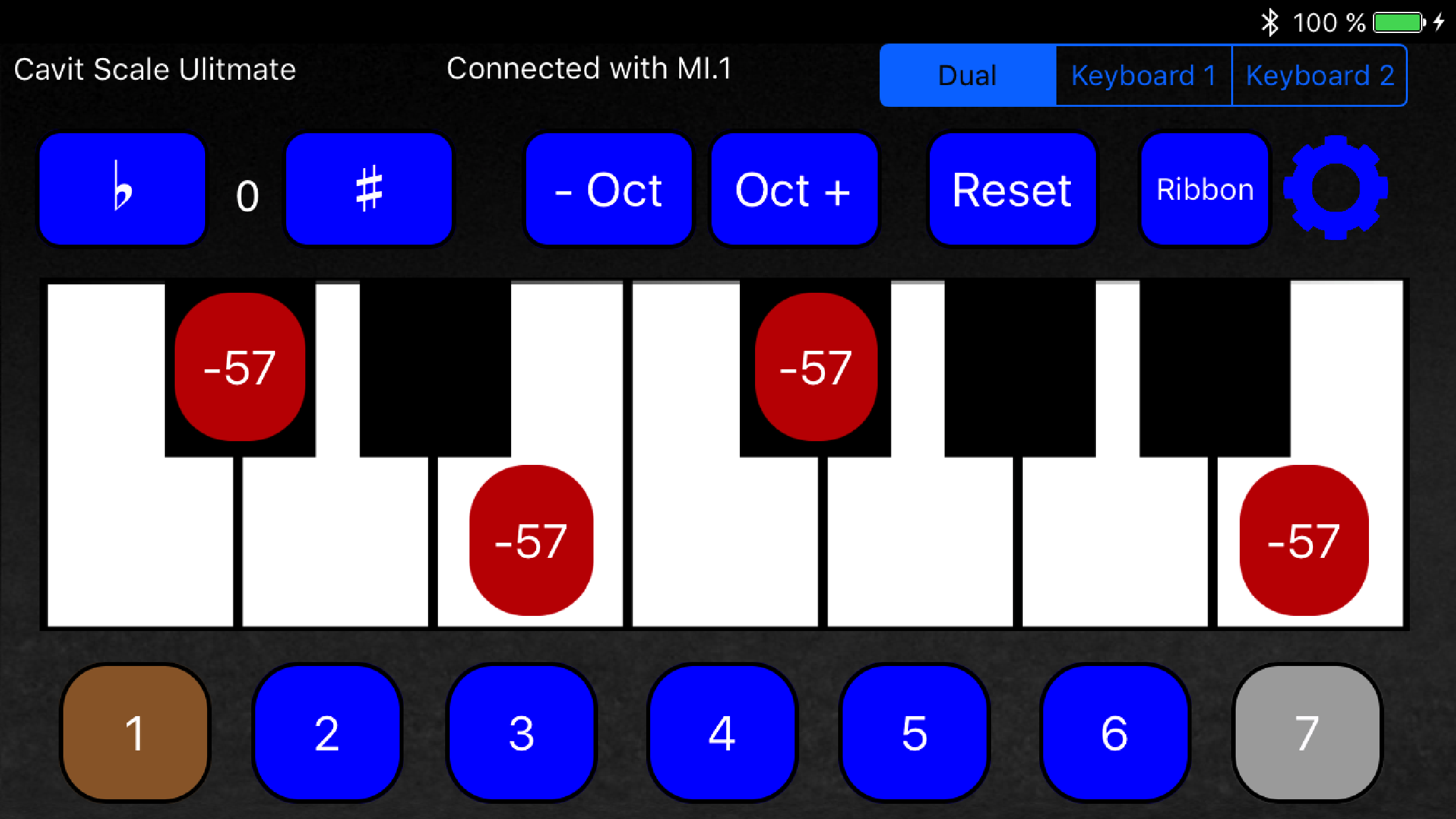 Cavit Scale is an iPhone/iPad Bluetooth App for Arabic