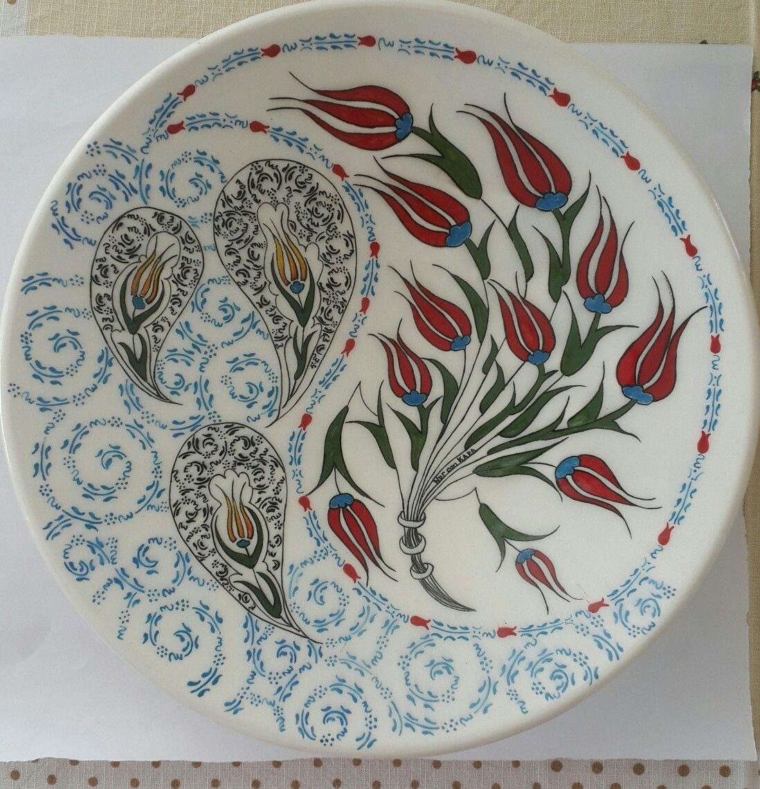 Nurcan Kara Desenler Sanatsal Resimler Seramik Sanati