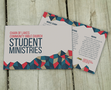Polygonal branding package youth ministry brochures and youth youth ministry branding package postcard brochure calendar business card invite great stuff colourmoves