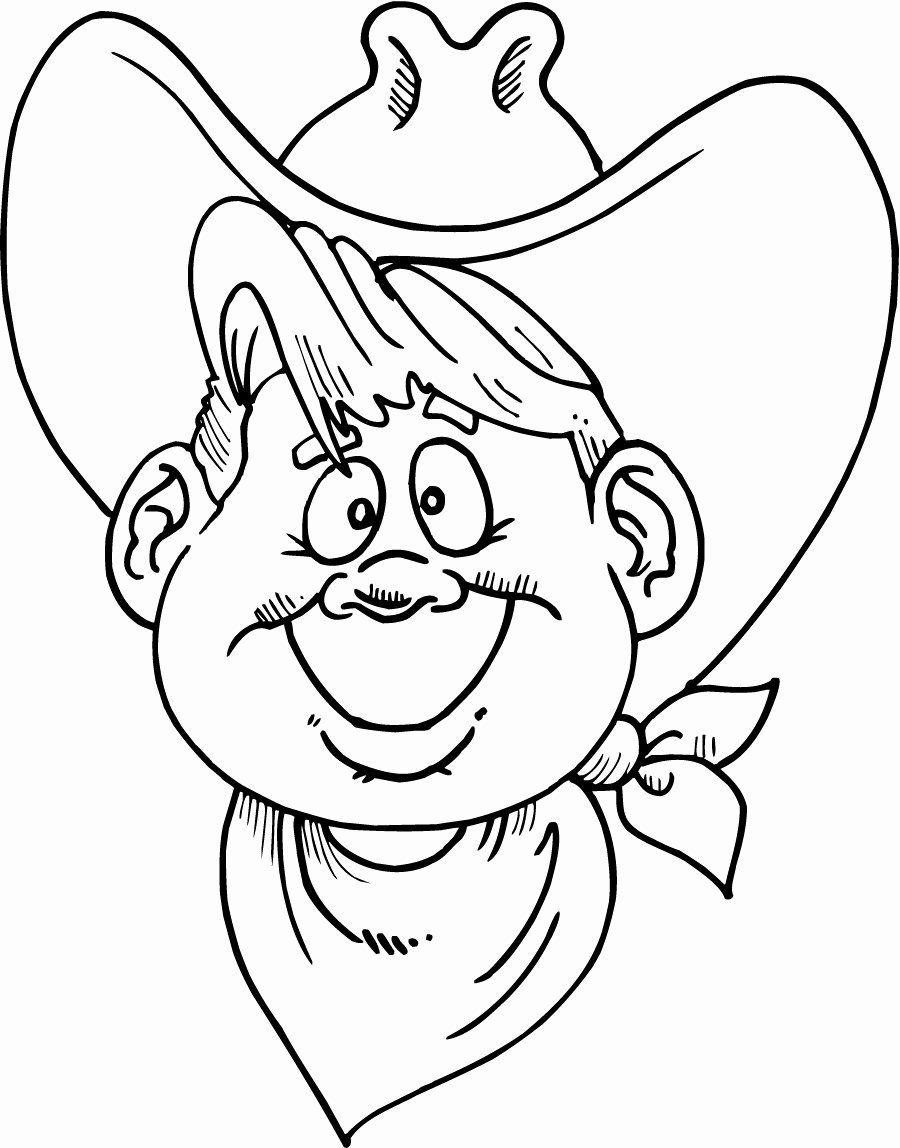 34+ Cowboy hat coloring pages info