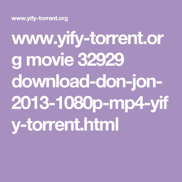 don jon torrent download