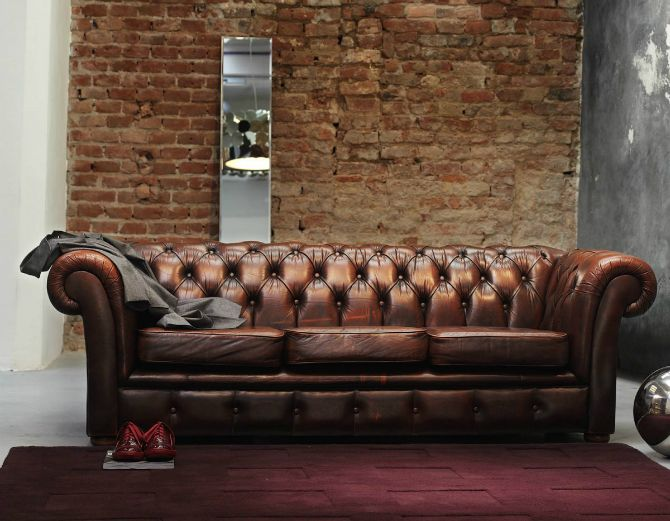 What Goes Well With Brown Leather Sofa For 2017 Trendy Look