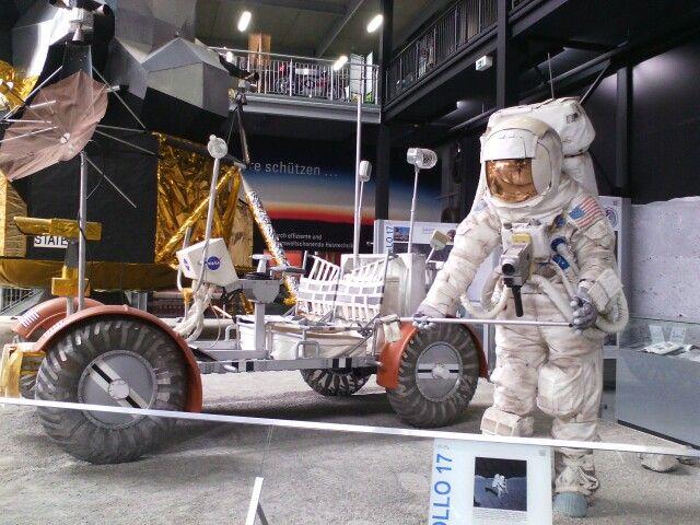 Auf dem Mond im Technikmuseum zu Speyer