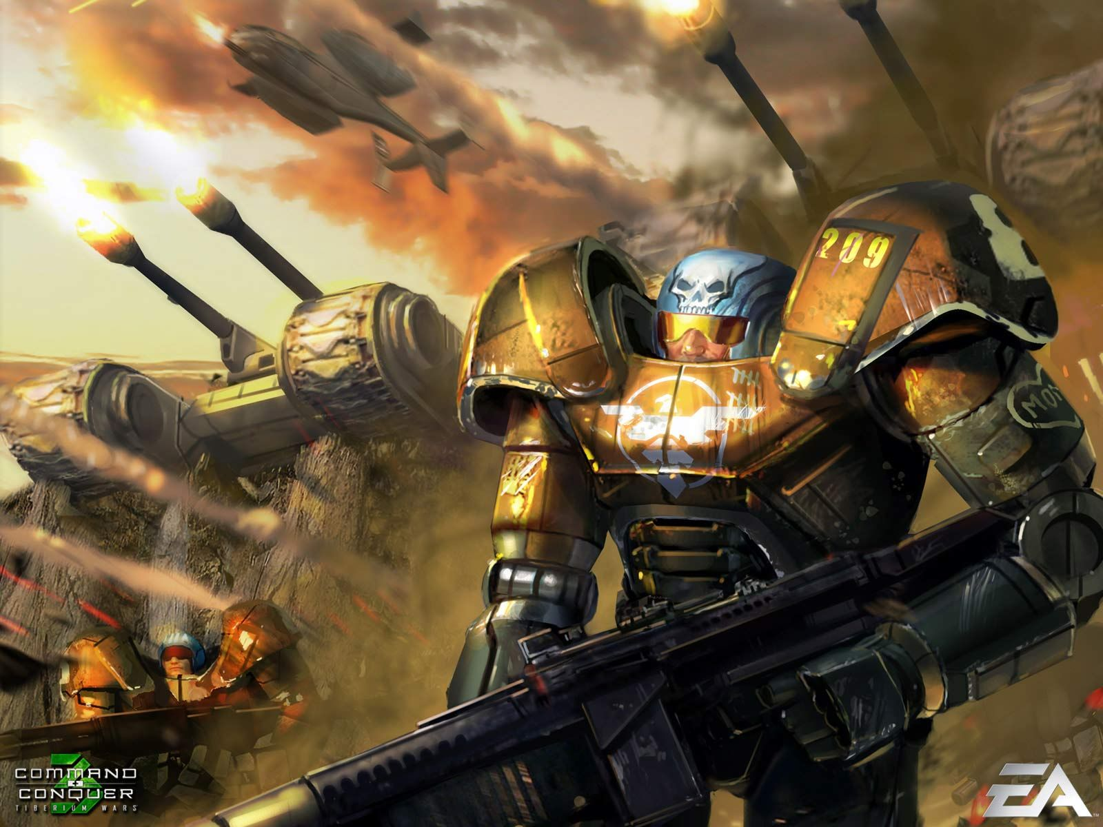 Desktop Wallpaper Gallery Games Command And Conquer 3 Free Background 1600x1200 Topeng