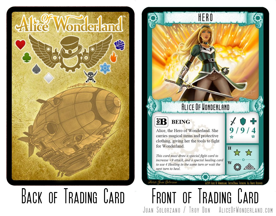 Alice Of Wonderland,   TRADING CARDS   Pinterest   Trading cards ...