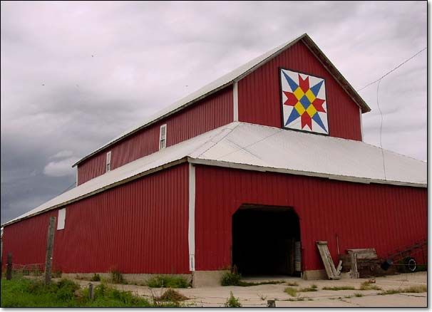 The Barn Quilts of Sac County Iowa | Barn Quilts | Pinterest ... : quilt on barns - Adamdwight.com