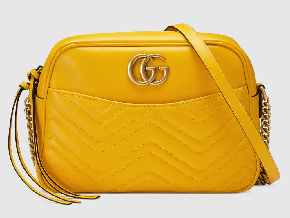 ccccc22c792 Bag of the Week  Gucci Marmont Matelassé Shoulder Bag - PurseBlog ...