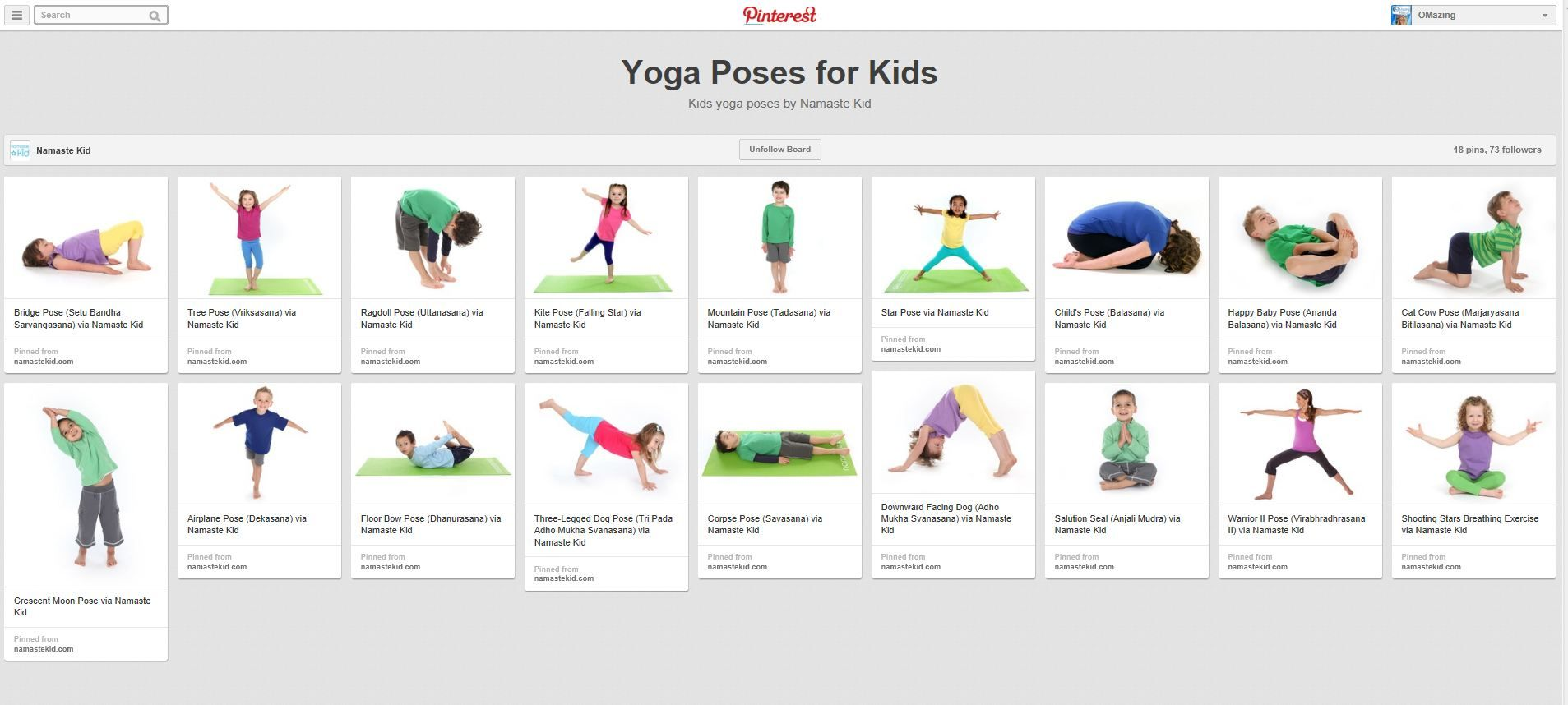 Yoga Poses For Kids Poster 1000 Images About Byoga