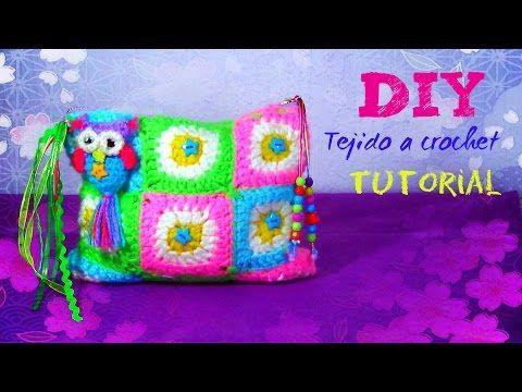YouTube | crochet | Pinterest | Youtube, Cartuchera y Como tejer