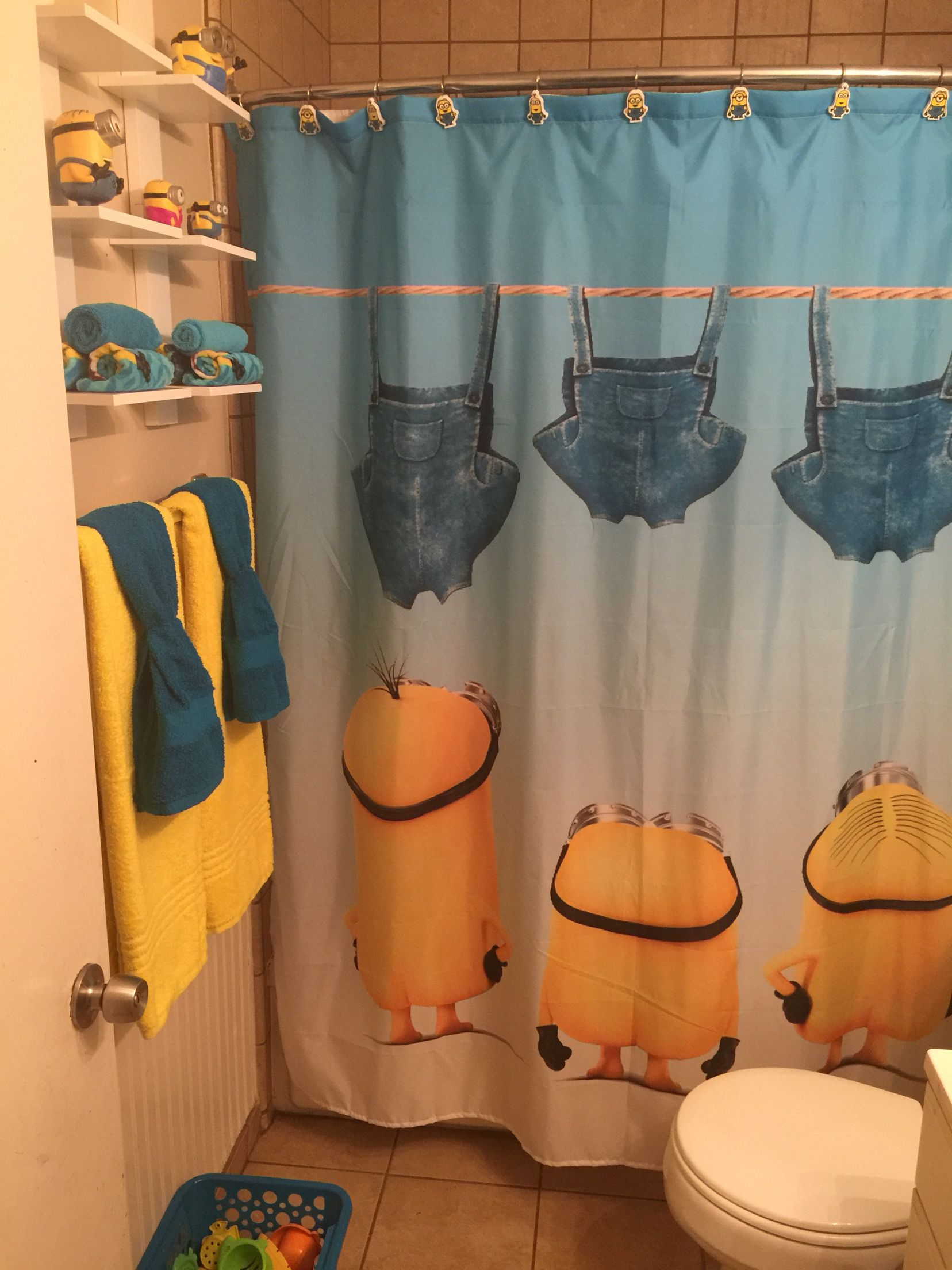 My Minion Bathroom Is Coming Together Bronx Amp Graham