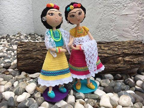 Frida Amigurumi Patron : Como tejer muñeca frida amigurumi by petus ochoa novena y Última