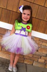 BUZZ LIGHTYEAR TUTU DRESS COSTUME Disfraces Infantiles ffd5eb73982