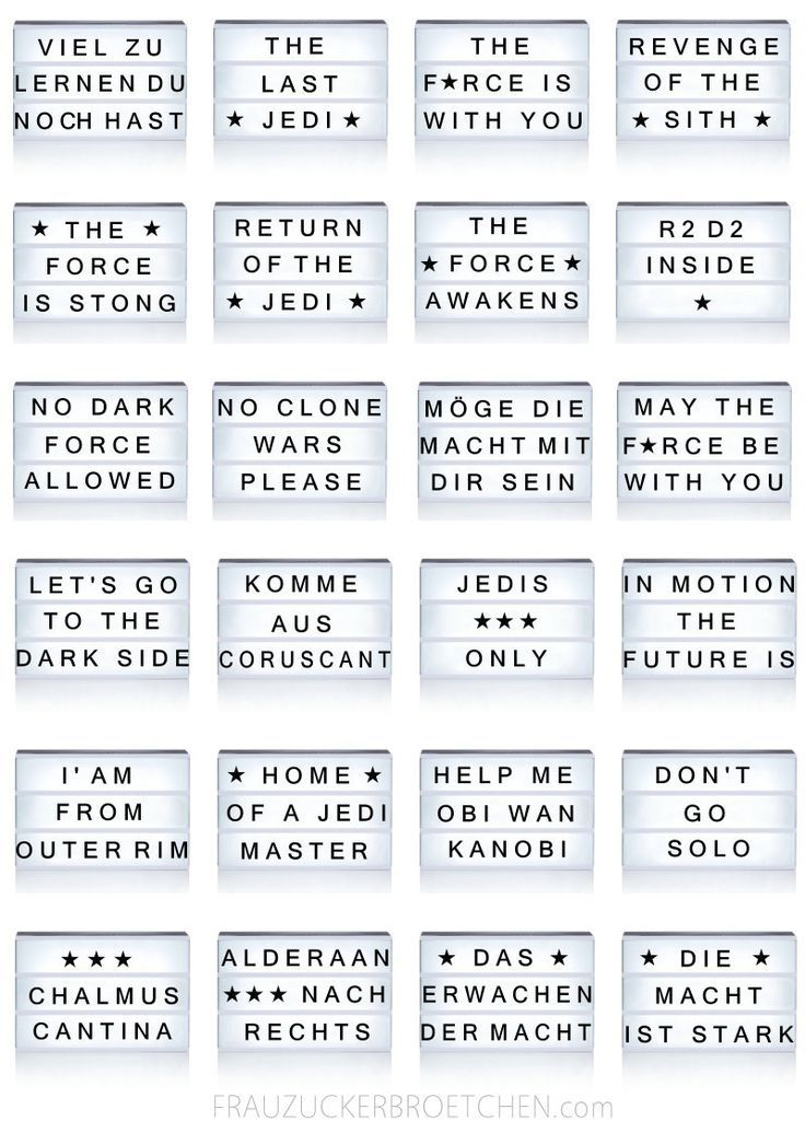 Coole Spruche Fur Die Lichtbox Teil2 Starwars Jpg Cool Crafts Harry Potter Cool Coole Crafts Cinema Light Box Quotes Light Box Quotes Message Light Box