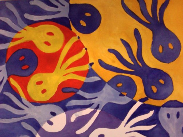 Split Complementary Color Scheme Examples double complementary colors painting - google search | colour +