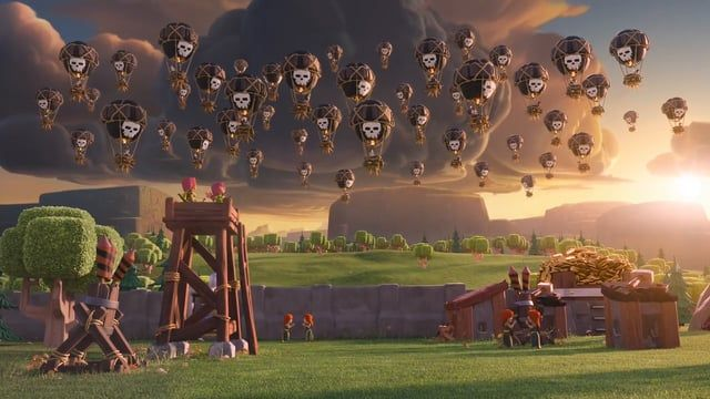 Clash Of Clans Balloon Parade Clash Royale Wallpaper Clash Of Clans Hack Clash Of Clans Clash of clans wallpaper hd 1080p