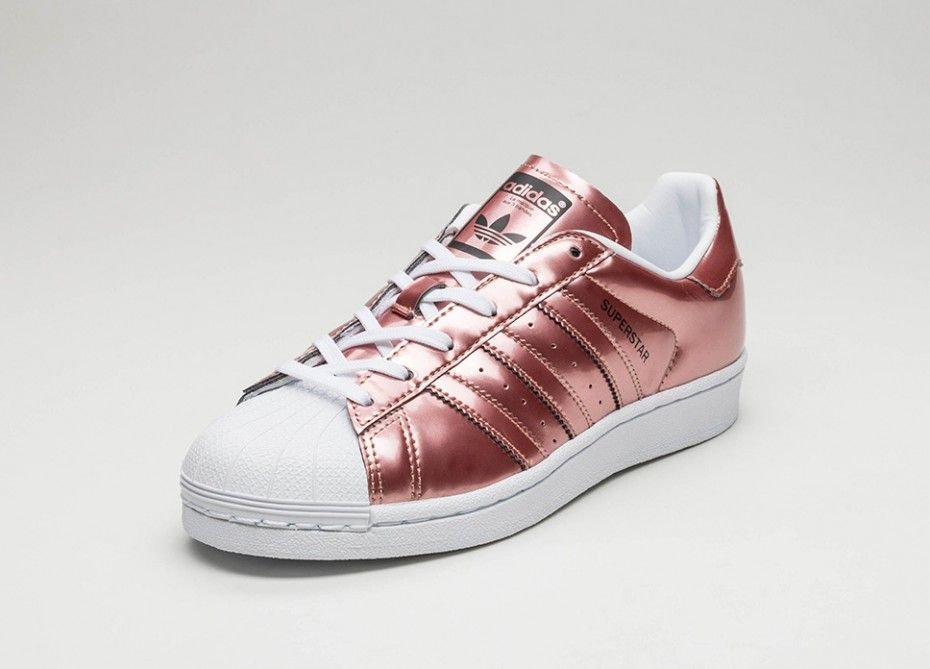 adidas superstar copper metallic