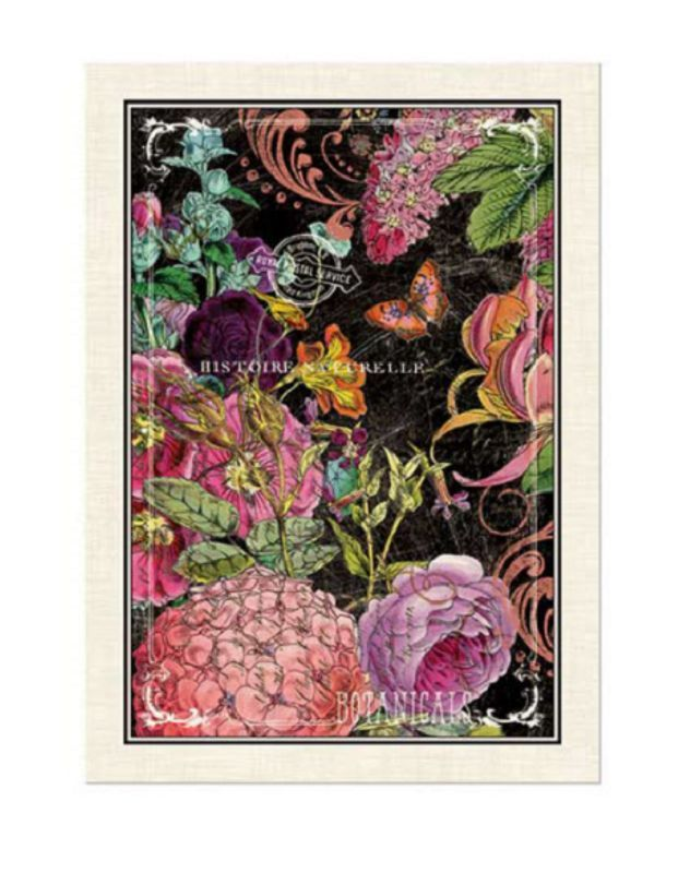 Botanical Garden Cotton Kitchen Towel By Michel Design Works