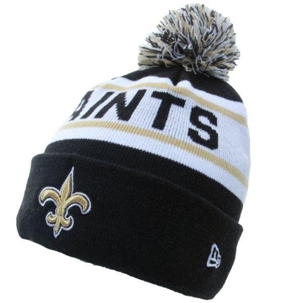 fa37edea57ca99 New Orleans Saints Big Fan Redux Knit Cap Beanie with Pom | Saints ...