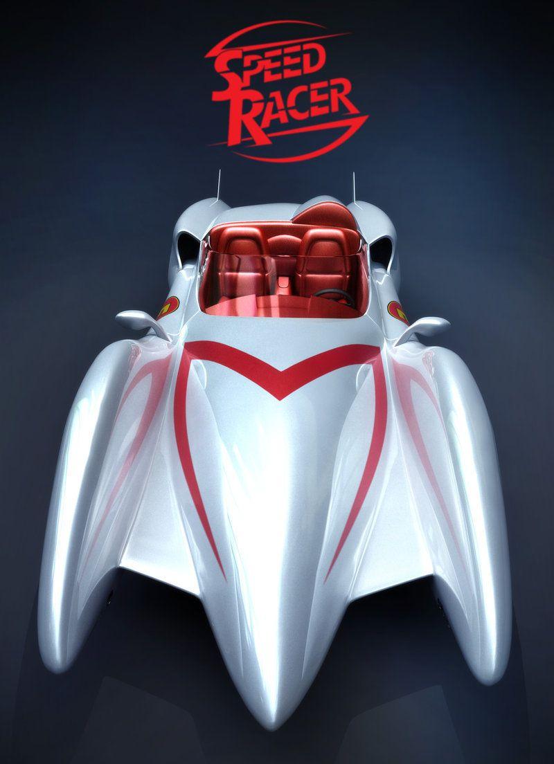 9a9aa92354 speed racer - mach 5 by darthdesign Desenhos Antigos