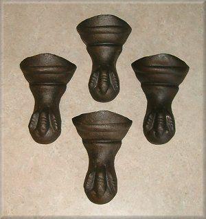 Eagle Claw Style Claw Foot Cast Iron Bath Tub Feet Cast Iron