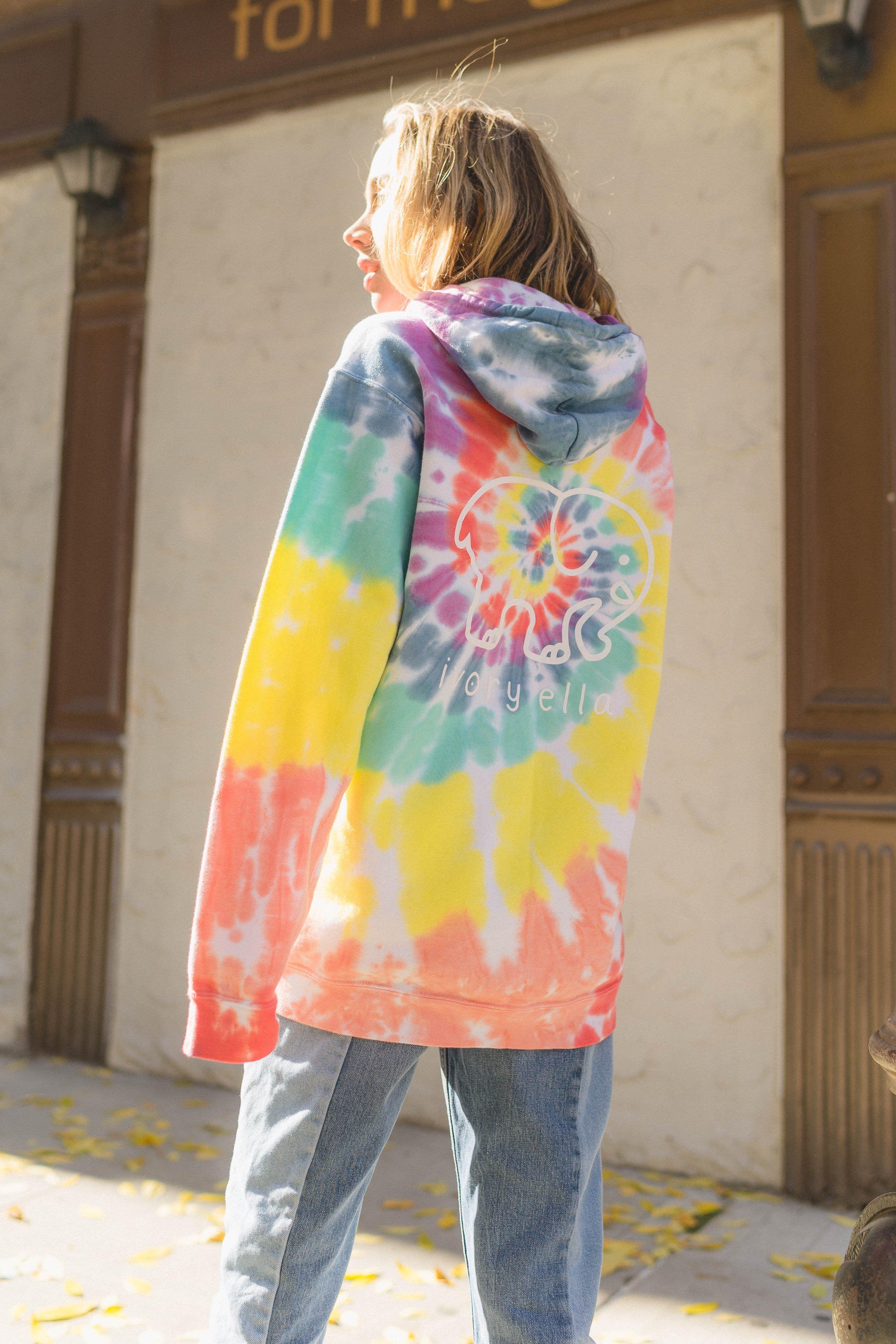 Oversized Rainbow Tie Dye Hoodie Rainbow Tie Dye Hoodie Tie Dye Hoodie Tie Dye [ 5148 x 3432 Pixel ]