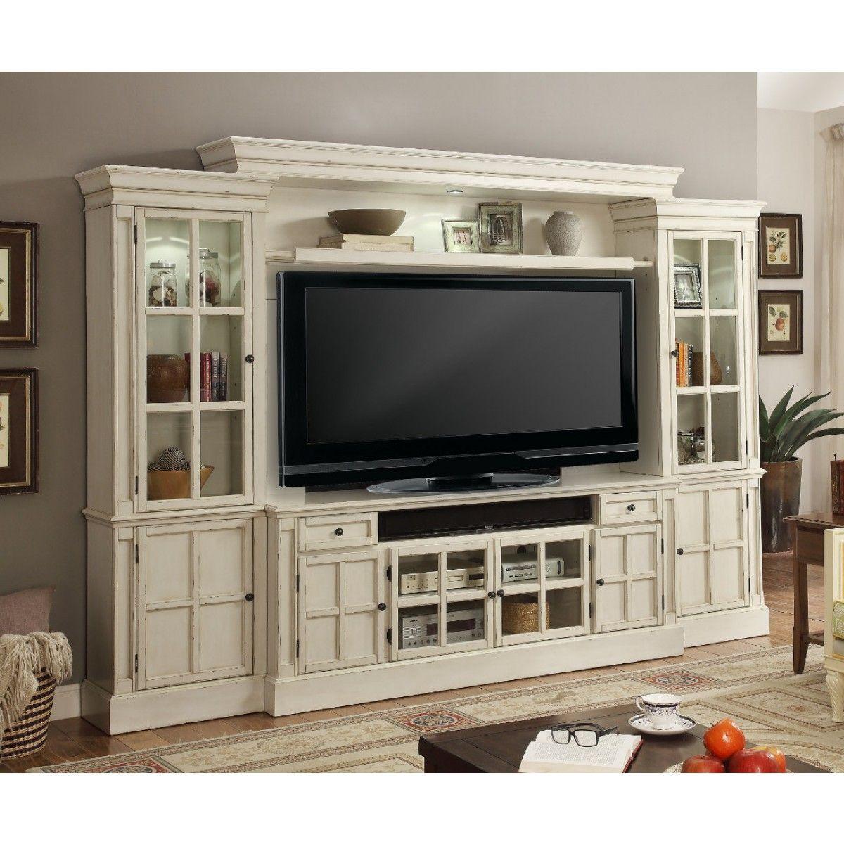 cosy drywall entertainment centers. Buy the Parker House Charlotte 72 Inch TV Console Entertainment Wall from  Furniture Crate where you ll also find lowest prices on all 4Pc in White
