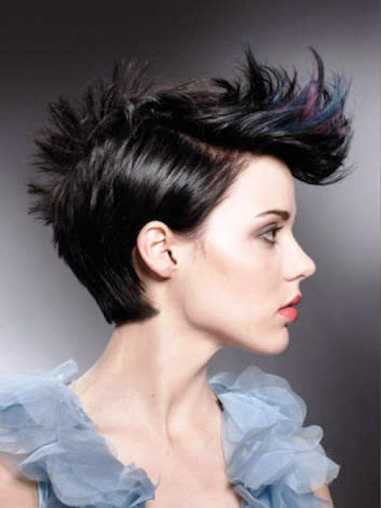 Short Punk Hairstyles Prepossessing 35 Short Punk Hairstyles To Rock Your Fantasy  Short Punk
