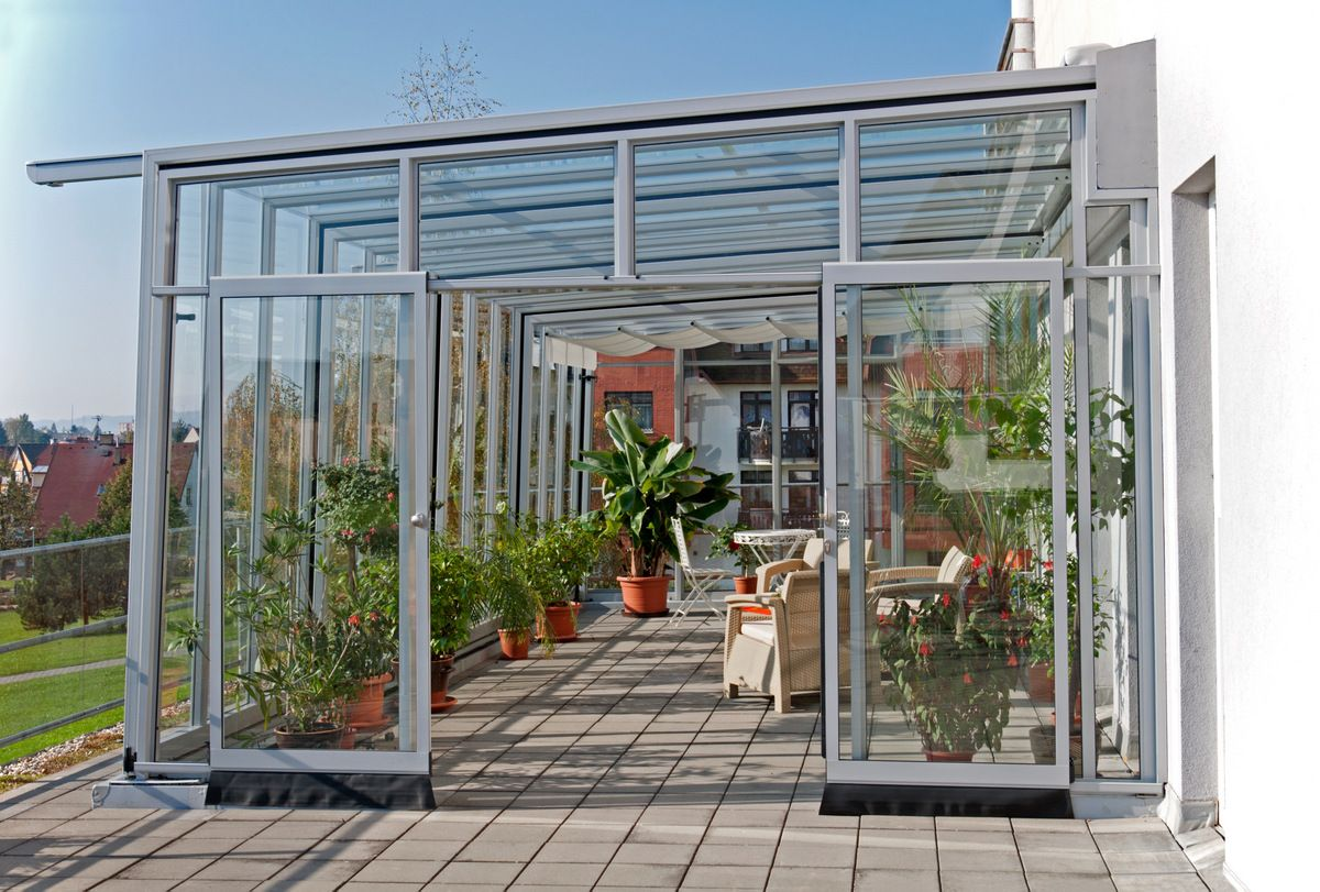 The Thermal Isolation Of Adjancent Walls Thanku0027s To Patio Cover CORSO GLASS  Is Highly Increased.