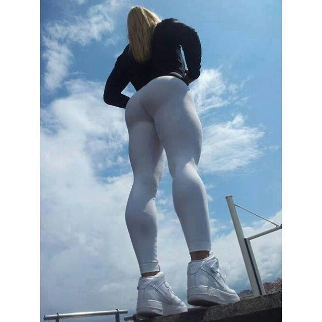 The World Of Spandex Fuck Yoga Pants Gray