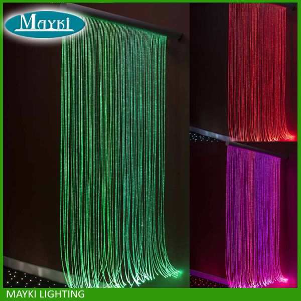 Optical Fiber Star Light Kit Diy Curtain For Home Decoration And More Beautiful Home Good Mood Fiber Optic Lighting Sensory Lights Fiber Optic Ceiling