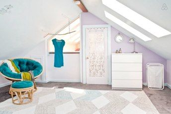 Pretty In Pink A Guest Room In An Attic I Spy S Mission We Chose To Accept Was To Create A Furnished Guest Ro Affordable Interior Design Victorian Homes Decor