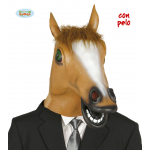 Careta de caballo para disfraces.