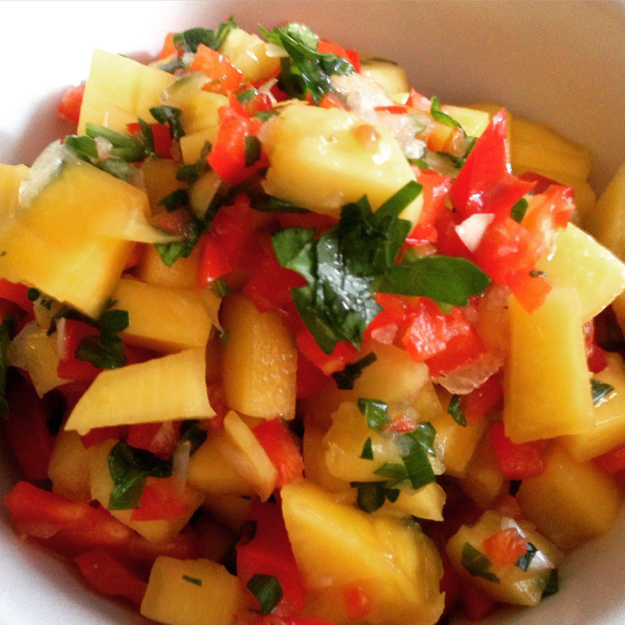 12 Refreshing Fruit Salsas Mango Salsa Recipes Mango Salsa