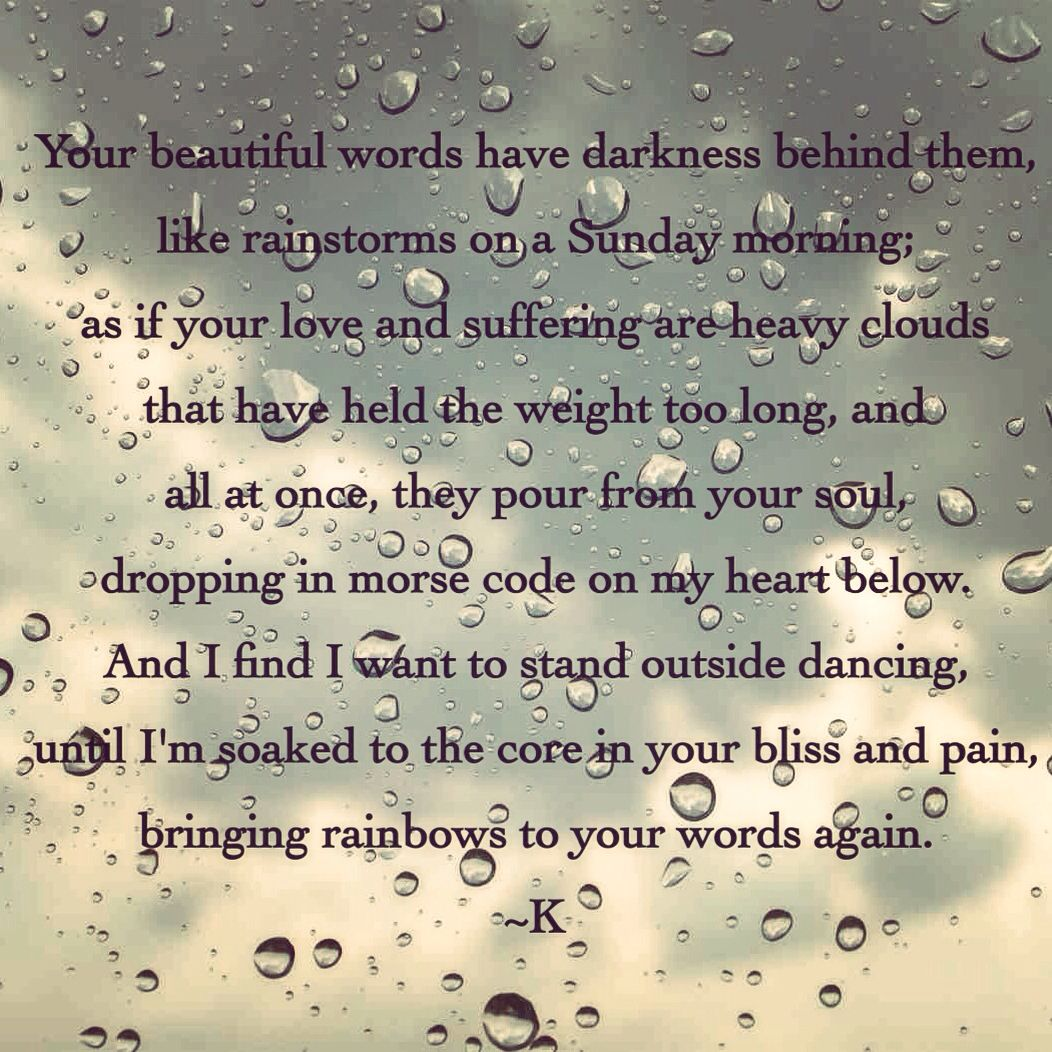 """Poem Quotes About Life Rainbows"""" Poem Poems Poetry Klr Quotes Life Love  Words For The"""