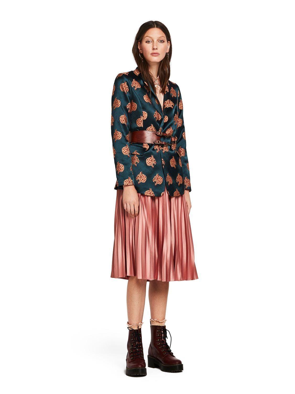wholesale online cost charm exclusive range Snow Leopard Jacquard Blazer | Dress Me | Blazer, Cool ...