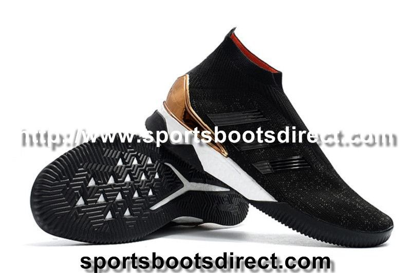 Adidas Predator Tango 18+ TR Sock Football Boots - Core Black Core Black  1b6262007d78a