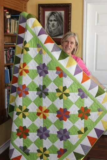 Quilt Pattern ~ DAISY PATCH ~ by Darlene Zimmerman