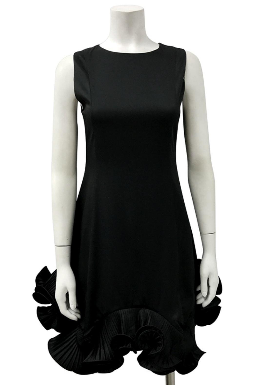 Bottom Pleats Dress Pleats Dress Dresses Black Sleeveless Dress [ 1575 x 1050 Pixel ]