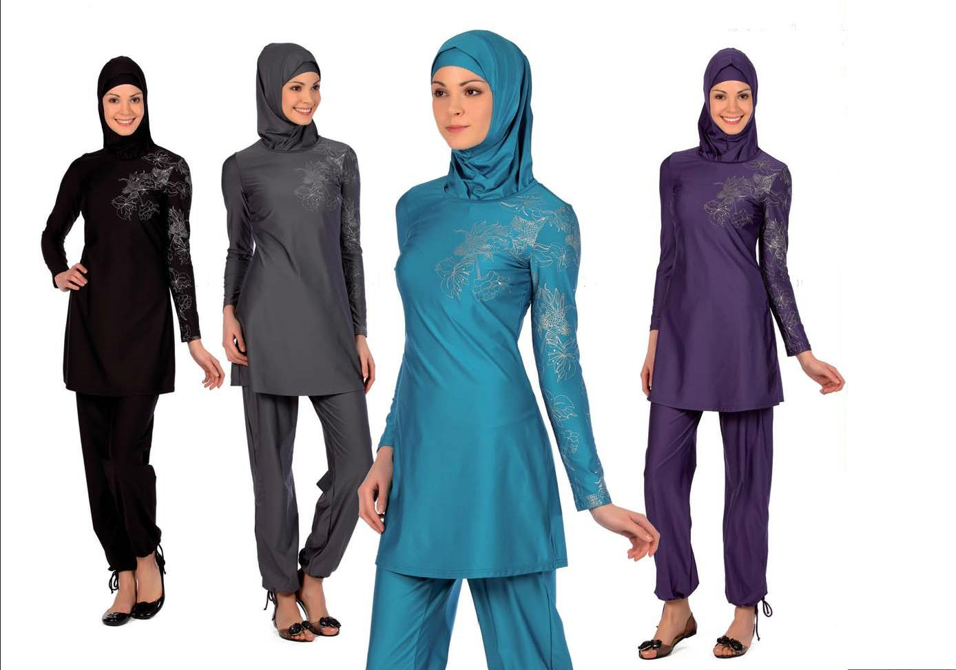 Elegant Islamic Swimwear Is Avaliable With Four Different Colors