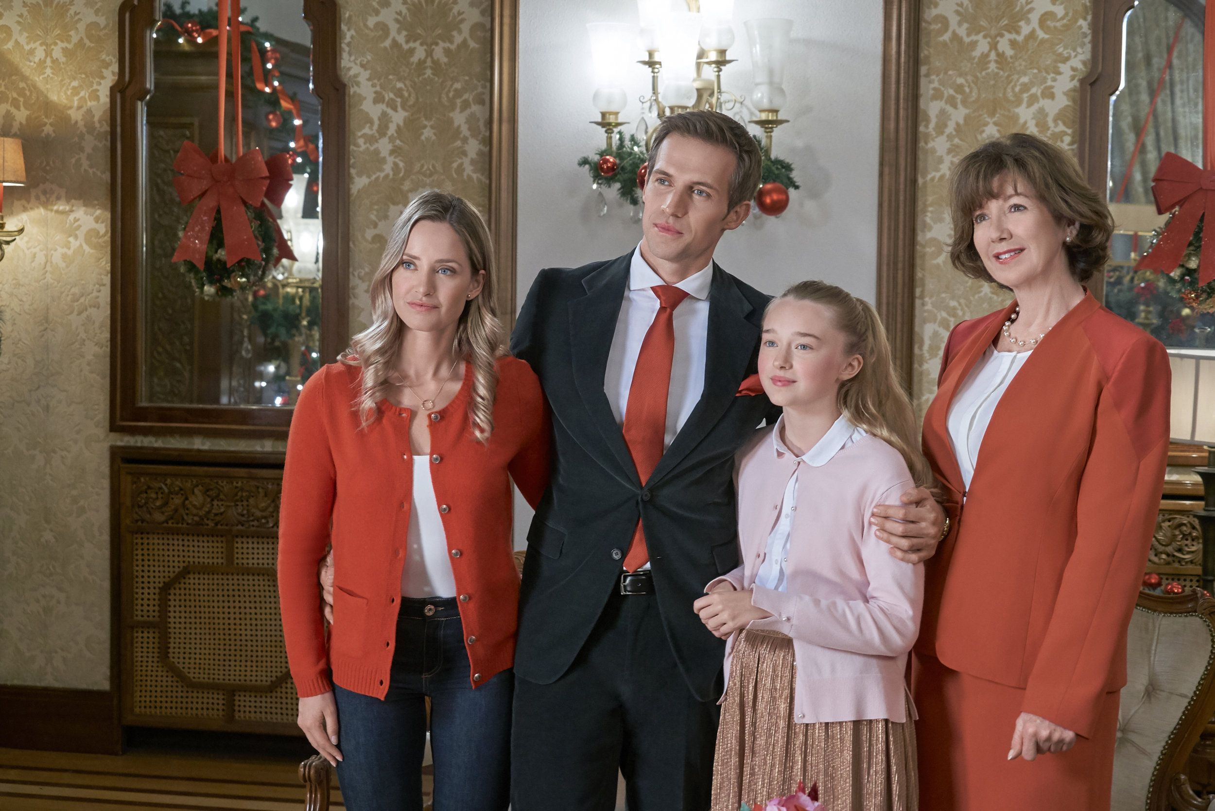 Check Out The Photo Gallery From The Hallmark Channel Original Movie Christmas At The Palace Star Hallmark Movies Hallmark Christmas Movies Merritt Patterson
