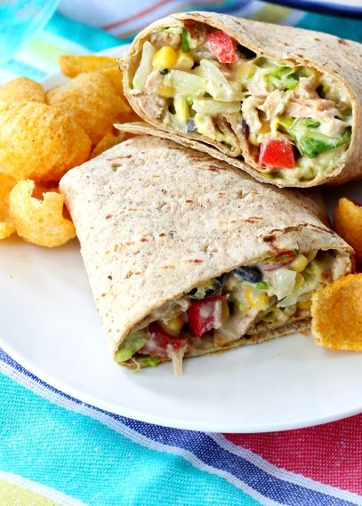 17 Healthy Wraps That Are Easy Bring-to-Work Lunches images
