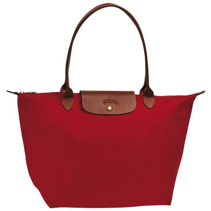 LONGCHAMP LE PLIAGE LARGE TOTE BAG RED - LONGCHAMP-1 #longchamp #lepliage #large #tote #red