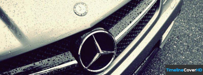 Vintage Water Drops Emblem Mercedes Benz Facebook Cover Timeline Banner For Fb55 Facebook Cover