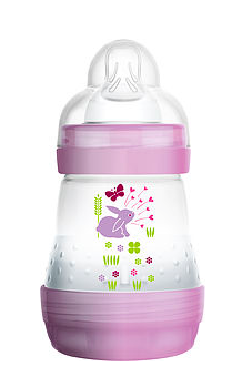 MAM ANTI COLIC SELF STERALISING BOTTLE: One of the top baby feeding products, as voted for by parents!