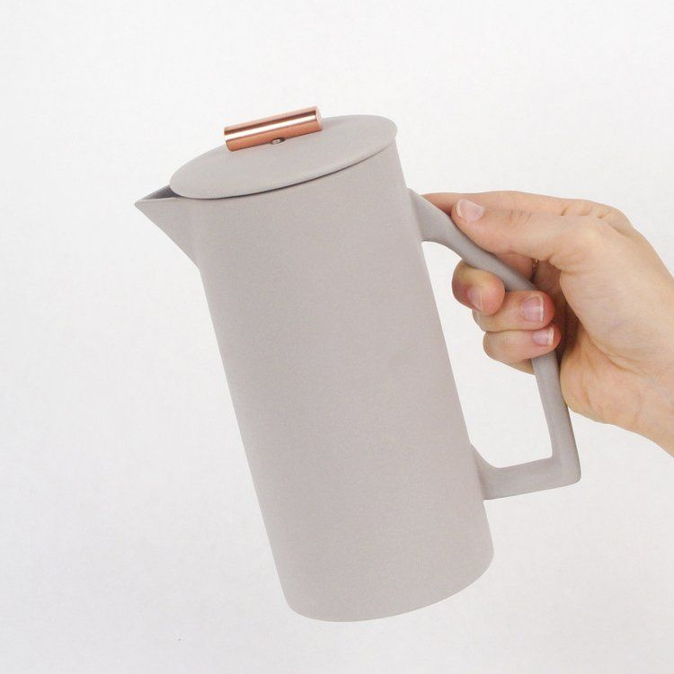 Fancy - Gray 850 mL French Press